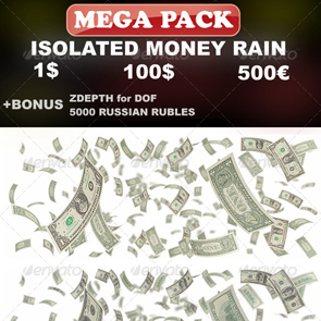 Isolated Money Rain